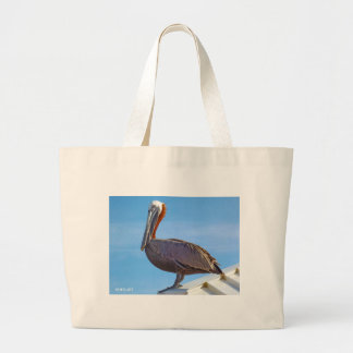 Pelican Again Large Tote Bag