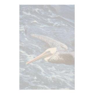 Pelican Birds Wildlife Animals Beach Customized Stationery