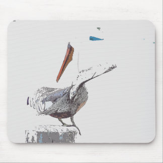 Pelican Birds Wildlife Animals Mouse Pad