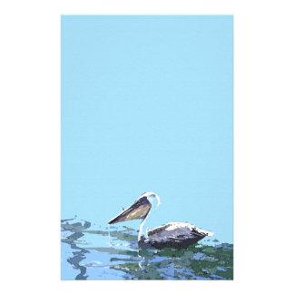 Pelican Birds Wildlife Animals Ocean Customised Stationery