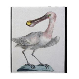 Pelican, c.1767-76 (hand coloured engraving) iPad folio case