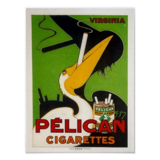 Pelican Cigarettes Print