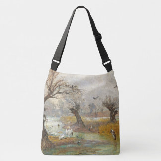 Pelican Heron Birds Wildlife Animals Tote Bag