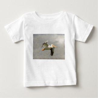 Pelican In Flight Baby T-Shirt