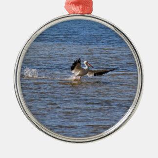 Pelican Landing Metal Ornament