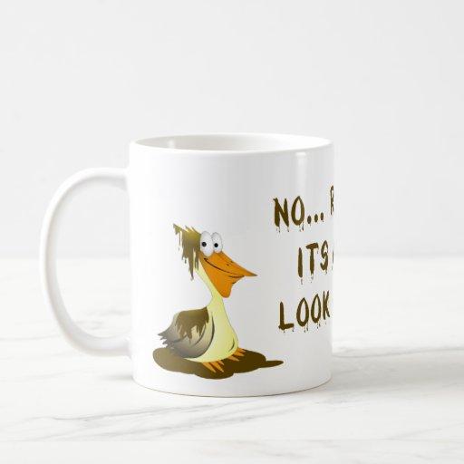 Pelican Oil Spill Mug