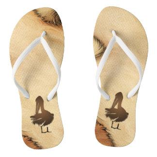Pelican Rustic Thongs