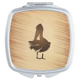 Pelican Rustic Travel Mirror