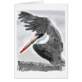 Pelican Salute Card