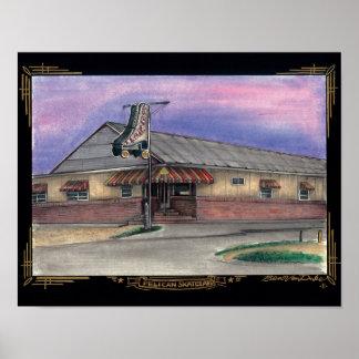 pelican skateland poster