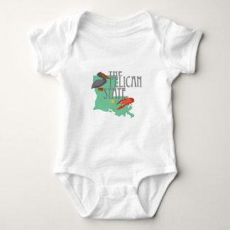 Pelican State Baby Bodysuit