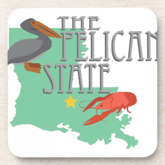 Pelican State Drink Coasters