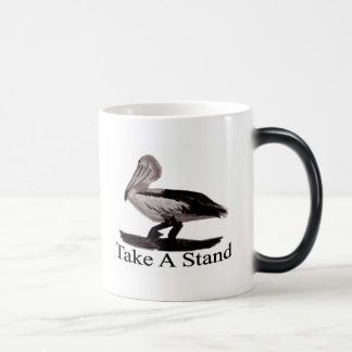 Pelican Take A Stand Morphing Mug
