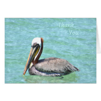 Pelican Thank You Note Card