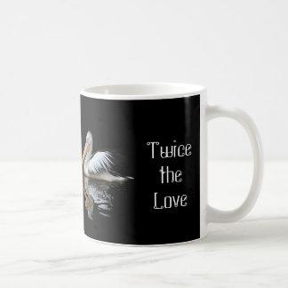 "Pelican ""Twice the Smiles"", ""Twice the Love"" Mug"