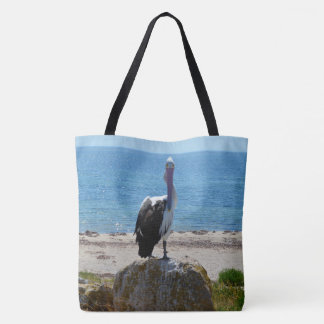 Pelican With The Look, Tote Bag