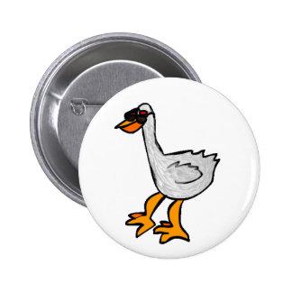 Pelicano Robot 6 Cm Round Badge
