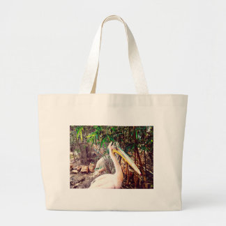 pelicans large tote bag
