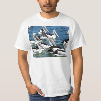 Pelicans On The Water T-Shirt