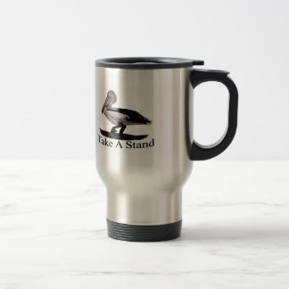 Pelicans Take A Stand Stainless Steel Travel Mug