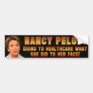 Pelosi: Anti ObamaCare Bumper Sticker