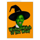 Pelosi: Wicked Witch of the West Greeting Card