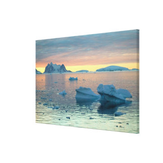 Peltier Channel in the last light of the day Stretched Canvas Prints