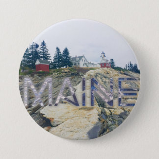 pemaquid lighthouse maine button