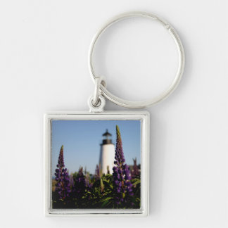 Pemaquid Lupine Key Ring