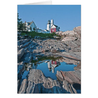 Pemaquid Point Light Station Card