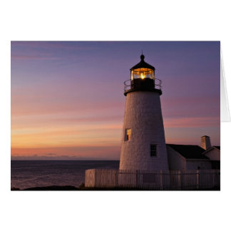 Pemaquid Point Light Station, Maine Card