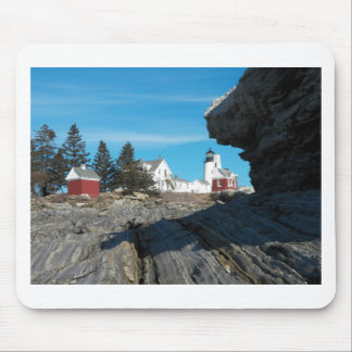 Pemaquid Point Lighthouse 22 Mouse Pad