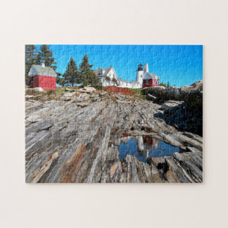 Pemaquid Point Lighthouse, Bristol Maine Jigsaw Puzzle