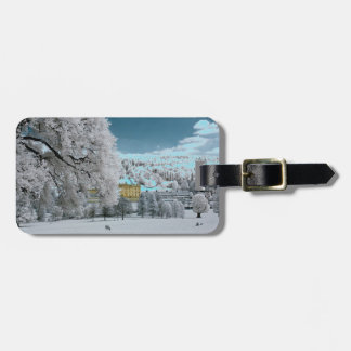 Pemberley in Winter Luggage Tag