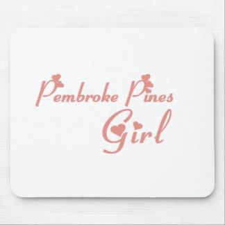 Pembroke Pines Girl tee shirts Mouse Pad