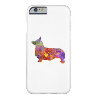 Pembroke Welsh Corgi 01 in watercolor 2 Barely There iPhone 6 Case