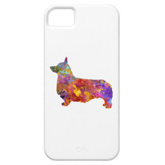 Pembroke Welsh Corgi 01 in watercolor 2 iPhone 5 Cases