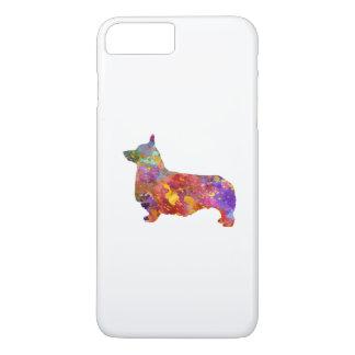 Pembroke Welsh Corgi 01 in watercolor 2 iPhone 8 Plus/7 Plus Case
