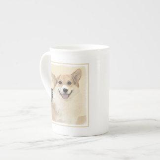 Pembroke Welsh Corgi 2 Painting - Original Dog Art Tea Cup