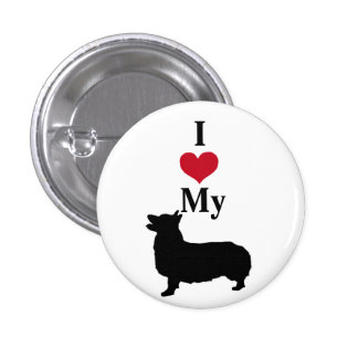 Pembroke Welsh Corgi 3 Cm Round Badge