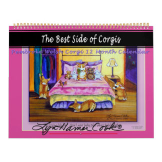 Pembroke Welsh Corgi Calendar The Best Side Corgis