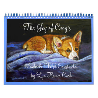 Pembroke Welsh Corgi Calendar The Joy of Corgis