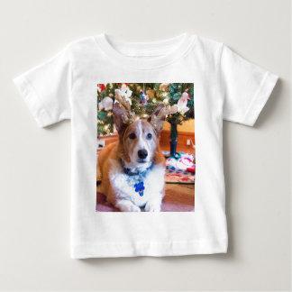 Pembroke Welsh Corgi Christmas Baby T-Shirt