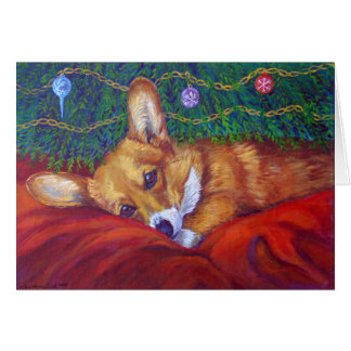 Pembroke Welsh Corgi Christmas Cards