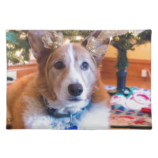 Pembroke Welsh Corgi Christmas Placemat