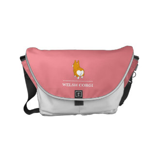 pembroke welsh corgi commuter bag