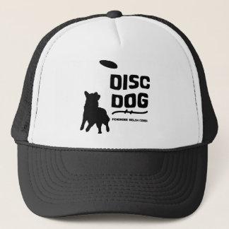 Pembroke Welsh Corgi Disc Dog Trucker Hat