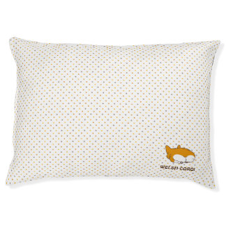 pembroke welsh corgi dot pet bed