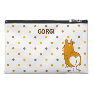 pembroke welsh corgi dot travel accessory bag