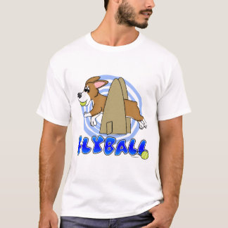 Pembroke Welsh Corgi Flyball T-Shirt